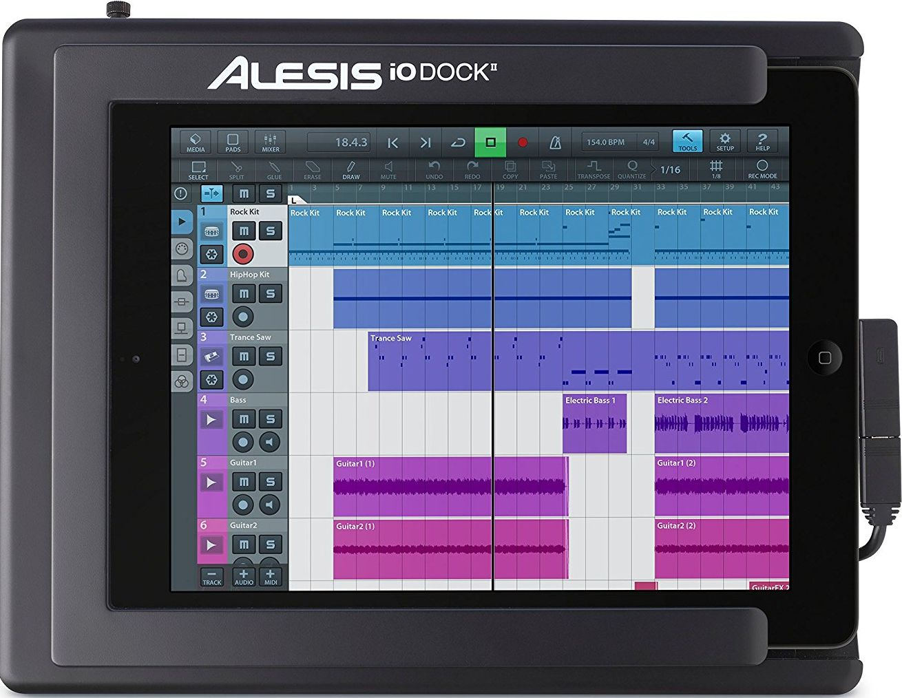 ALESIS iO DOCK 2 INTERFÉSZ