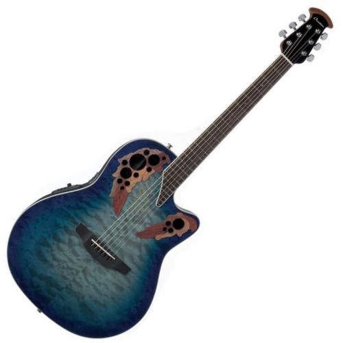 OVATION CE48P-RG CELEBRITY ELITE PLUS SUPER SHALLOW