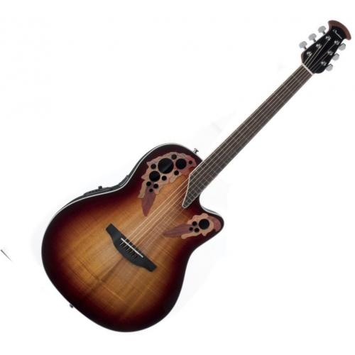 OVATION CE48P-KOAB CELEBRITY ELITE PLUS SUPER SHALLOW