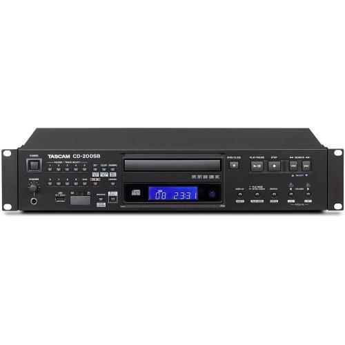 TASCAM CD-200SB CD/USB/SD LEÁTSZÓ MP3/WAV KOMPATIBILITÁSSAL