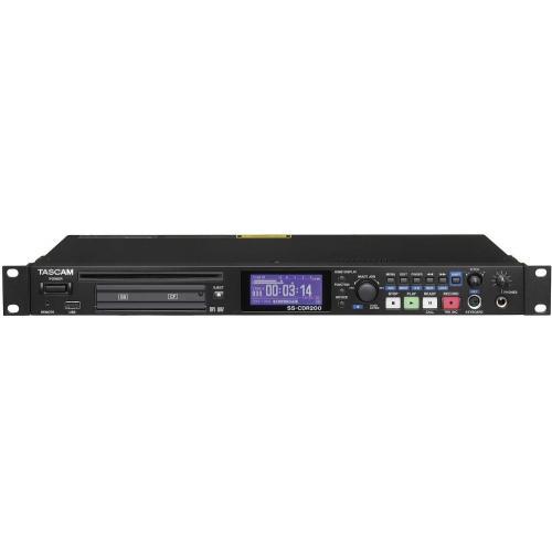 TASCAM SS-CDR200 CF/SD/USB/CD LEJÁTSZÓ/FELVEVŐ