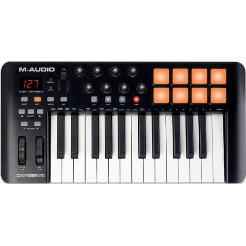 M-AUDIO OXYGEN 25 IV USB/MIDI KONTROLLER