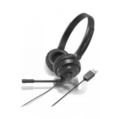 AUDIO-TECHNICA ATH-750 COM MIKROFONOS FEJHALLGATÓ