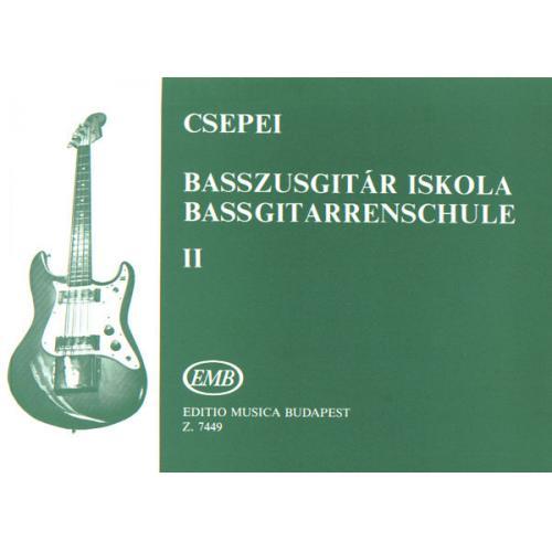 Z.7449 Csepei Tibor Basszusgitár-iskola 2 kezdők számára