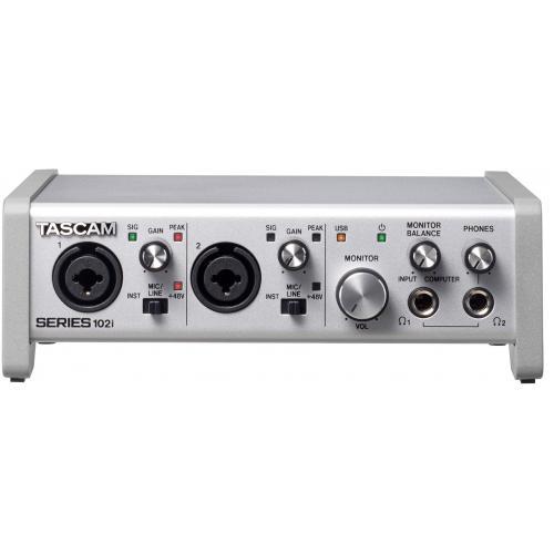 TASCAM SERIES 102i USB AUDIO ÉS MIDI HANGKÁRTYA