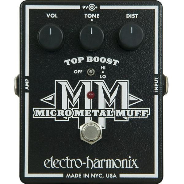 ELECTRO HARMONIX EH-MICRO METAL MUFF