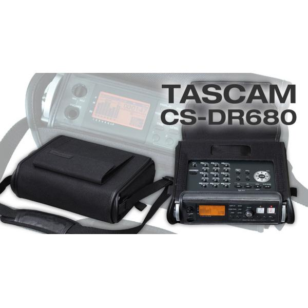 TASCAM CS-DR680 PUHA HORDTÁSKA DR-680 RECORDERHEZ