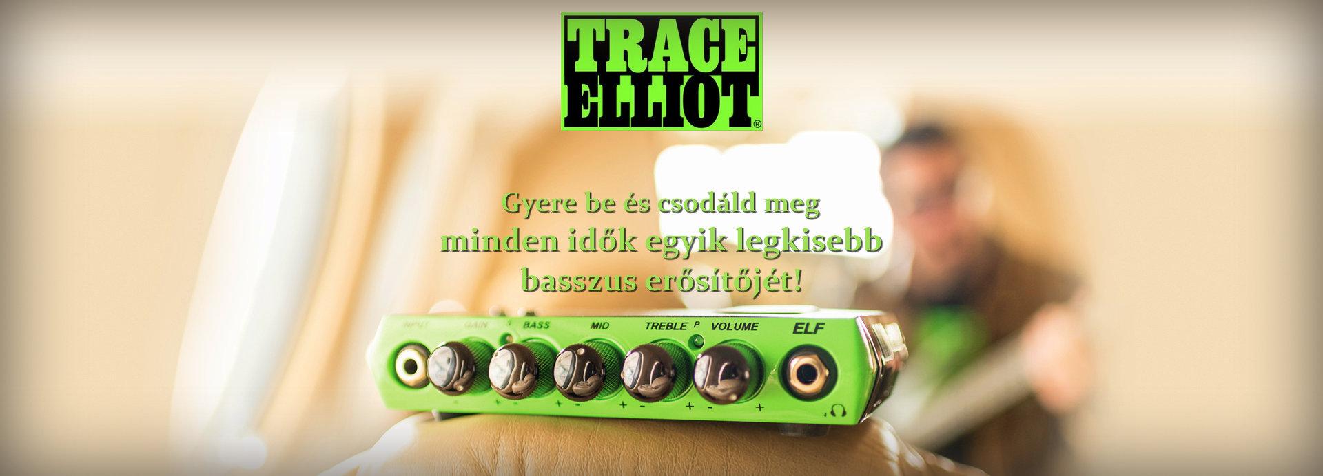 TRACE ELLIOT ELF BASSZUSERŐSÍTŐ FEJ