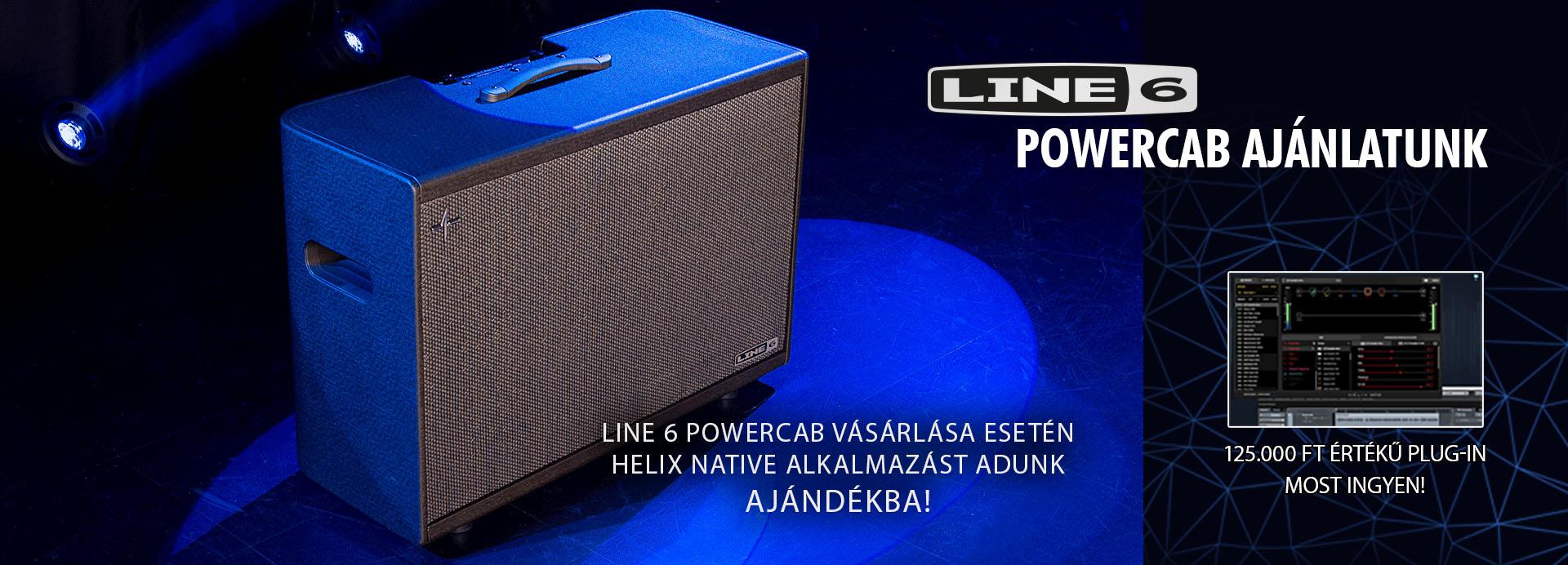LINE6 POWERCAB PROMÓCIÓ