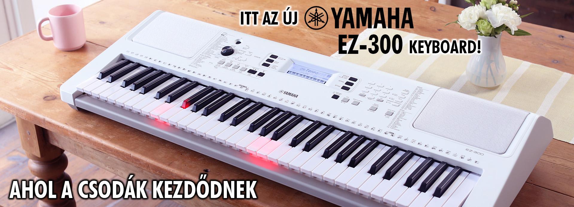 YAMAHA EZ-300 KEYBOARD